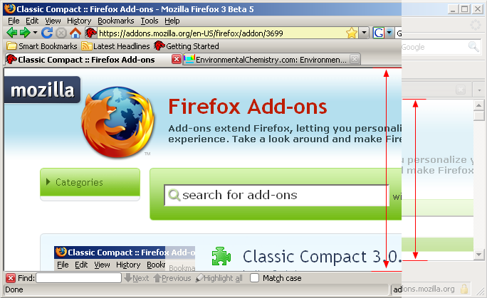 Theme] Classic Compact (v25 0 Most current on AMO) • mozillaZine Forums
